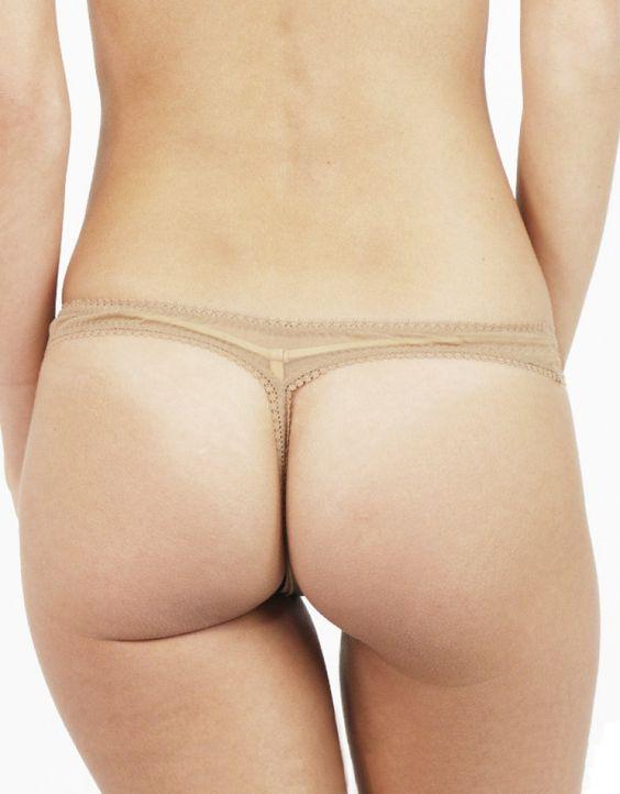OnGossamer Mesh Hip Thong 3512