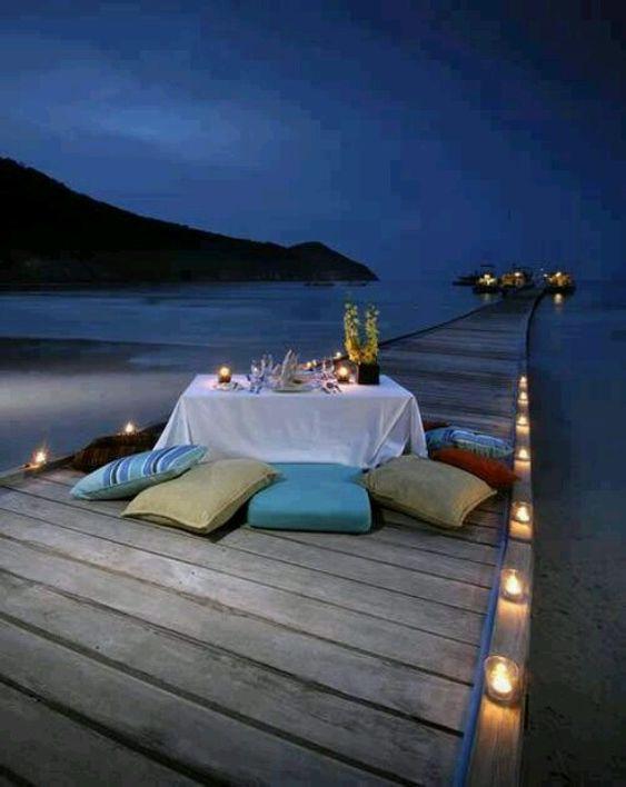 Romantic dinner setting  #romance #romantic