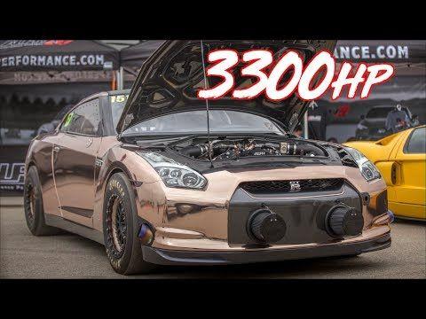 3300hp Alpha Queen Gtr 228mph Worlds Most Powerful Gtr Youtube Gtr Nissan Gtr Nissan