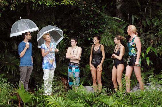 Dschungelcamp 2013: Dschungelprüfung HÄNGEPARIE