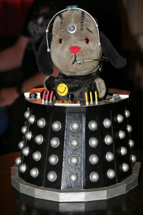 For fans who love both Sooty and Doctor Who, here is Sweep as Davros    [Please Like my Sooty FB page    (Source - Twitter @braintumourlady)