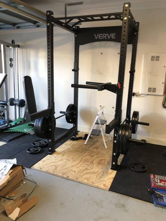 New Rack Came In Today Verve Fitness New Company In Australia Fun Workouts At Home Workouts Home Gym