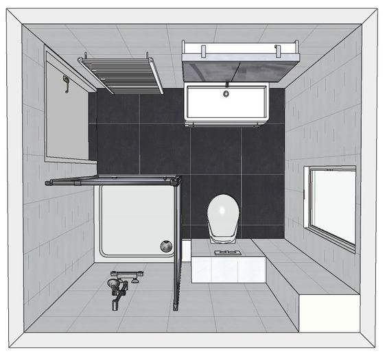 Badkamer radiator vlak badkamer ontwerp idee n voor uw huis samen met meubels die - Bijvoorbeeld vlak badkamer ...