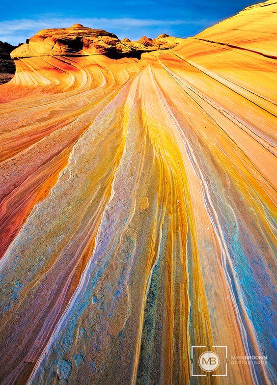 Yellow Wave Vermillion Cliffs, UT, United States