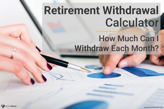 Retirement Withdrawal Calculator Calculator and Retirement - retirement withdrawal calculator