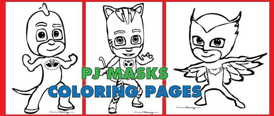 Free PDF Download Of PJ Masks Coloring Pages