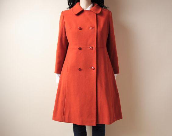 Classic orange coat