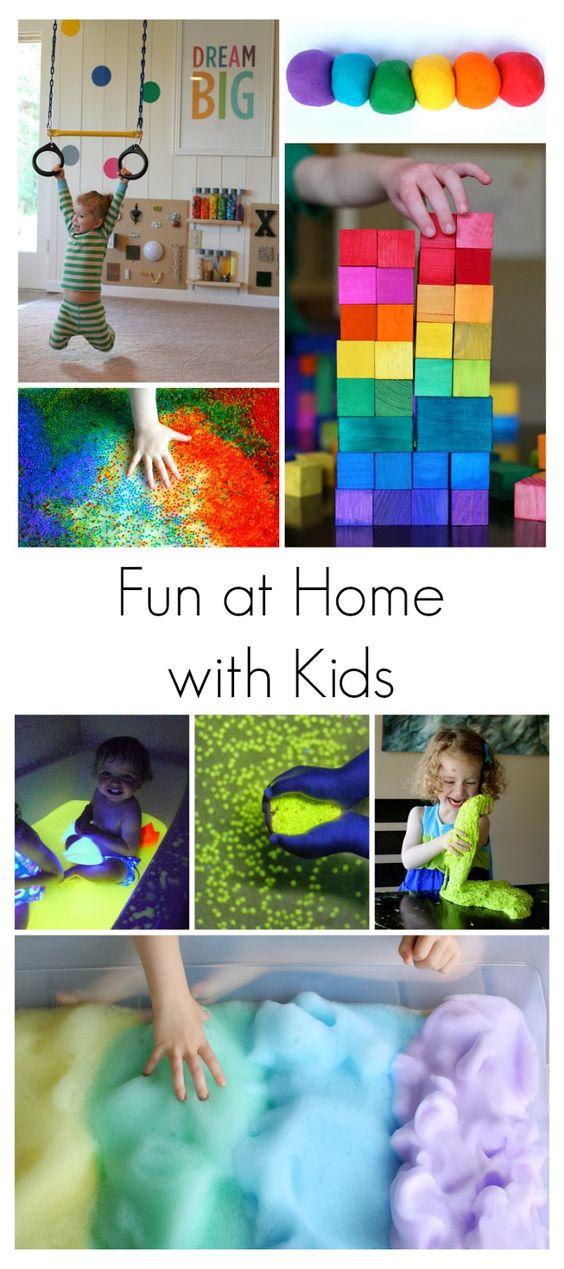 actividades para hacer con los nios en casa