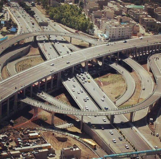 Tehran Highways / Emam Ali highway / #Tehran #Iran