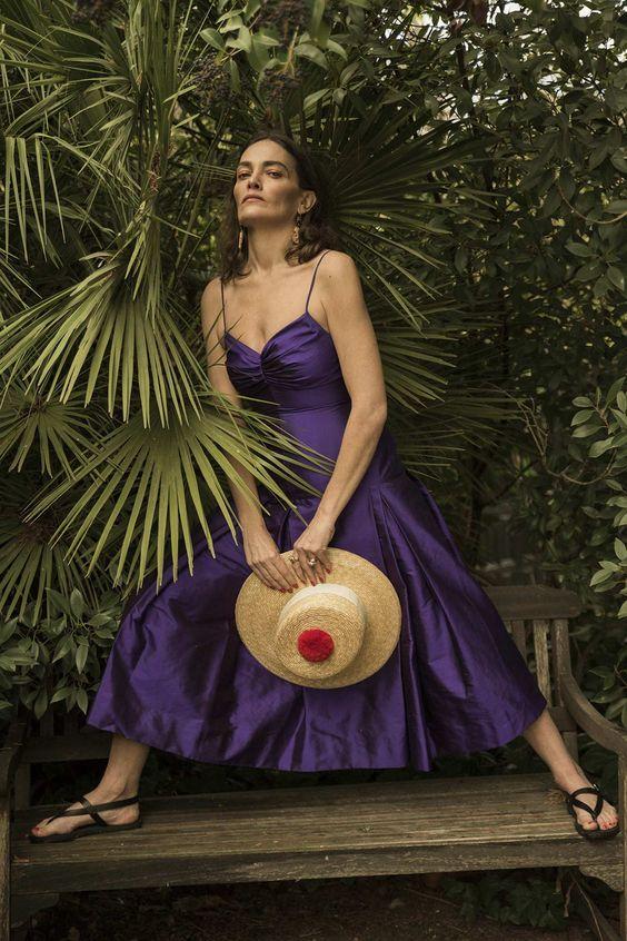 Los 7días/ 7looks de Laura Ponte (IV): ¿cómo es para la modelo y diseñadora el vestido y el look perfectos? © Fotografía: César Segarra. Estilismo: Berta Álvarez