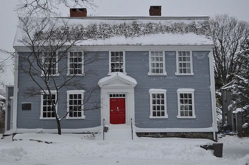 Red Door Grey House gray house with red door image gallery - hcpr