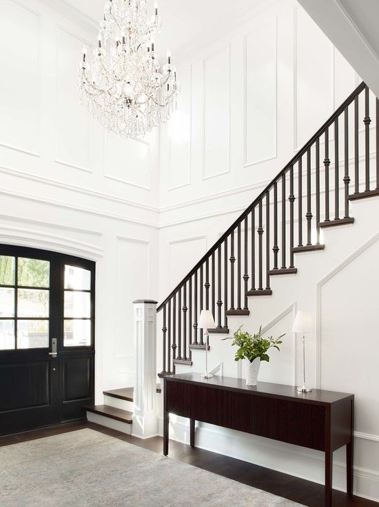 Two Story Foyer Or Not : Kelly deck design entrances foyers story foyer wall