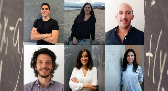 Estos seis jóvenes matemáticos han ganado los Premios Vicent Caselles 2020
