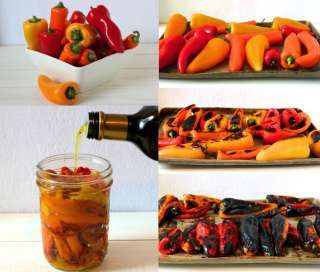 How To Make Organic Roasted Peppers {2 ingredients} - Whole Lifestyle Nutrition | Organic Recipes | Holistic Recipes