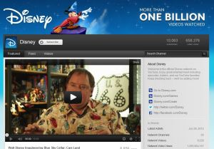 Disney Celebrates its 1-Billionth Video View on YouTube with Exclusive Programming Event