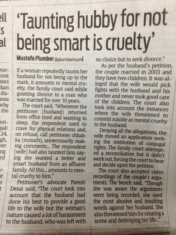 Fun Wife Meme : Taunting is a cruelty husband wife meme india funny fun