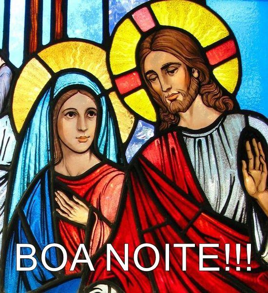 Imagens De Boa Noite Com Jesus E Maria Imagens De Boa Noite