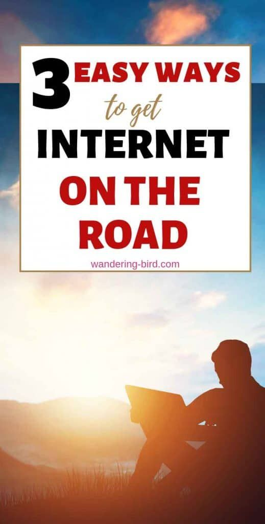 3 Easy Ways To Get Motorhome Wifi Mobile Internet On The Road Motorhome Travels Motorhome Road Trip With Kids