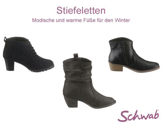 Um keine kalten Füße zu bekommen, haben wir für Euch eine Auswahl wunderschöner #Stiefeletten zusammengestellt.