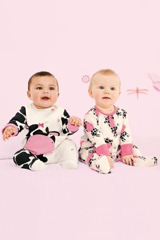 Buy Two Pack Character Sleepsuits (0mths-2yrs) from the Next UK online shop
