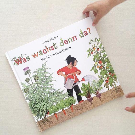 Neues Lieblingsbuch!!! Sehr schön illustriert und lehrreich. Nicht nur für KLEINE Gärtner 💚 #kinderbuch #waswächstdennda #kleinegärtner #gartenbuch #buchtipp
