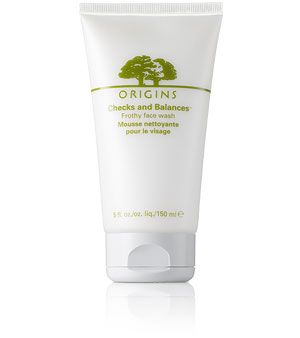 Origins Checks and Balances Face Wash - gentle but extremely effective, and has a great peppermint fragrance.