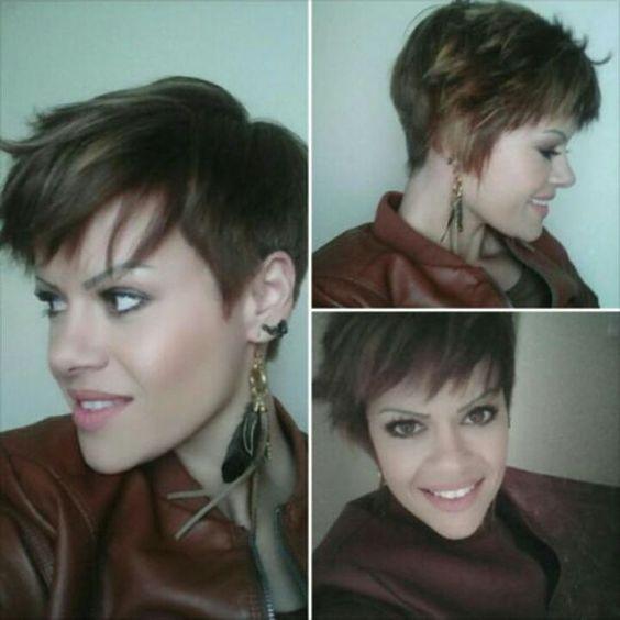 Stufenschnitte bringen Schwung und Bewegung! 10 schöne gestufte Frisuren für kurze Haare! - Neue Frisur