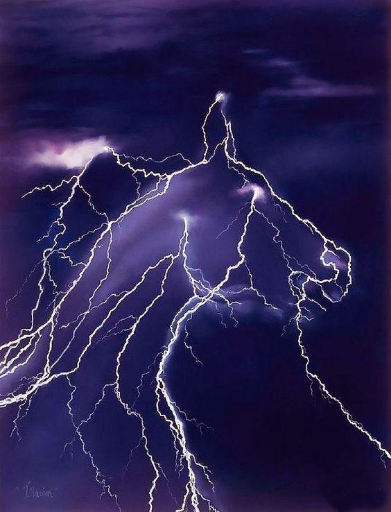 Lightning art.