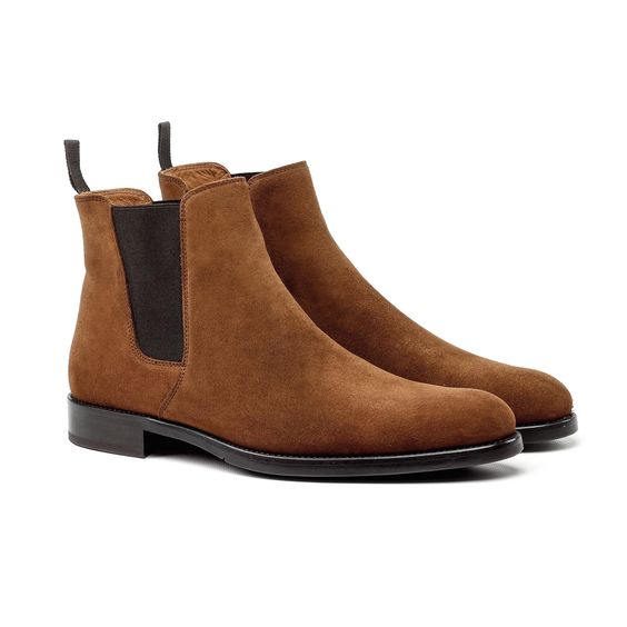 Our exclusive ORO York Cognac Chelsea Boots are perfect for those who want a…