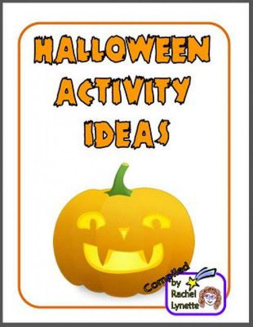 Free Ebooks For Halloween 2020 Free Halloween Activity Ideas Ebook! #halloween #halloween