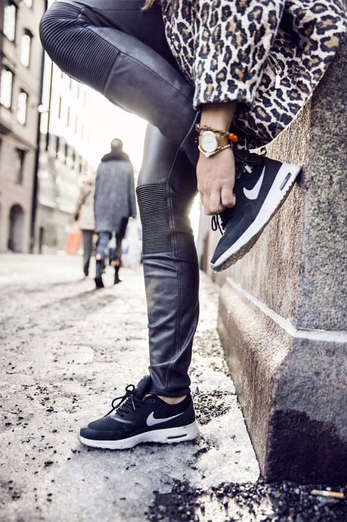nike air force 1 black - Street Style, January 2015 | Air Maxes, Angelica Blick and Nike Shoes