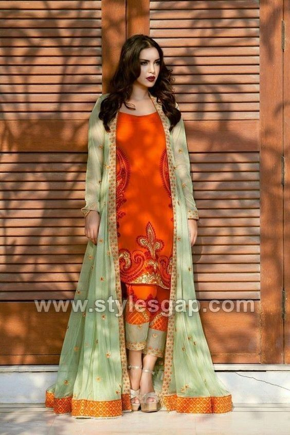 Front Open Double Shirt Dresses Designs Collection 2020 2021 Trends Indian Dresses Party Wear Dresses Pakistani Outfits