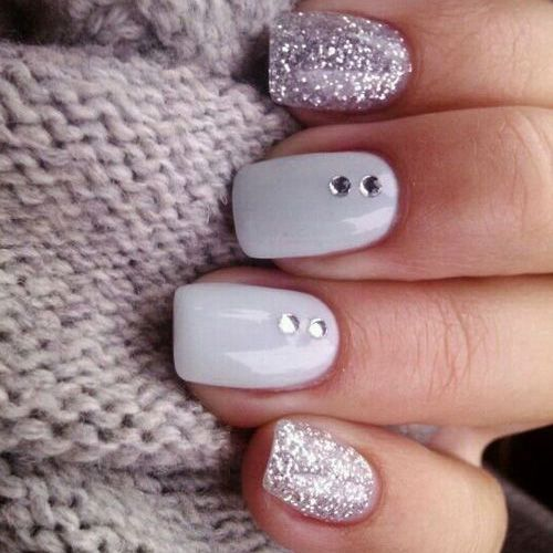 Best Winter Nails For 2018 45 Cute Winter Nail Designs Best Nail Art Nail Designs Nails Nail Designs Glitter