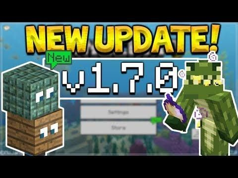 Mcpe 1 7 Update Minecraft Pocket Edition New Server Changes Pocket Xbox Pc Switch Pocket Edition Minecraft Pocket Edition Xbox Pc