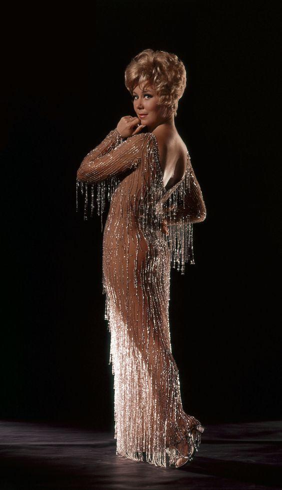 Bob Mackie for Mitzi Gaynor  ~ my namesake (my dad's idea) + Kim Novak :)