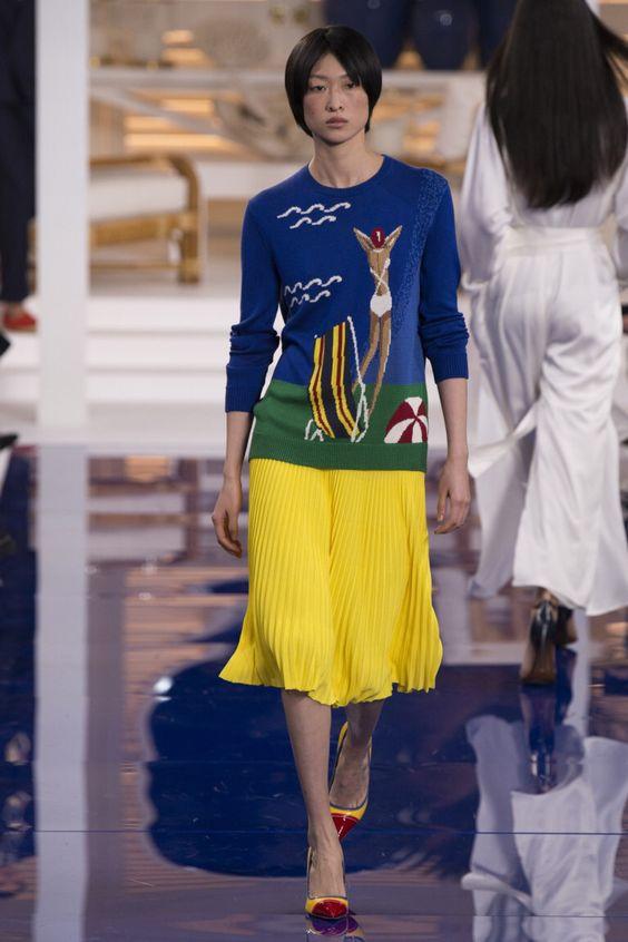 Ralph Lauren  #VogueRussia #readytowear #rtw #springsummer2018 #RalphLauren #VogueCollections