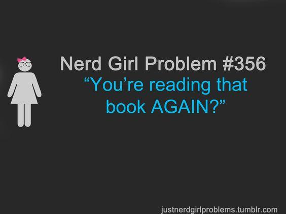 Nerd girls, Harry potter and Nerd girl problems on Pinterest