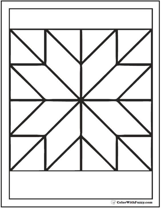 Pattern Coloring Pages Customize Pdf Printables Pattern Coloring Pages Geometric Coloring Pages Book Quilt