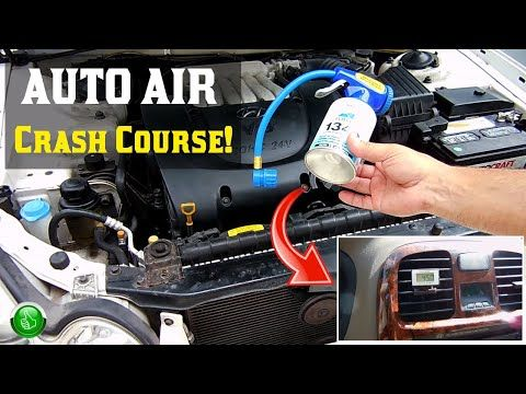 How To Recharge Your Car S Ac System Without A Manifold Gauge You Air Conditioning