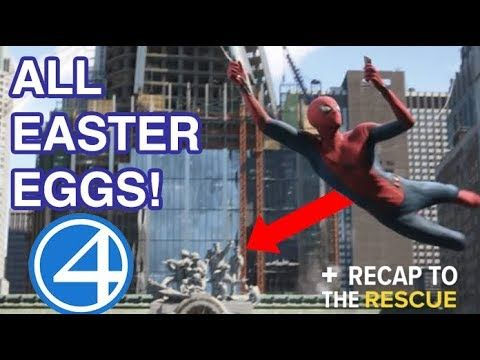 Spider-Man: Far From Home - All Easter Eggs & Post-Credits Explained |  Spiderman, Amazing fantasy 15, Marvel cinematic