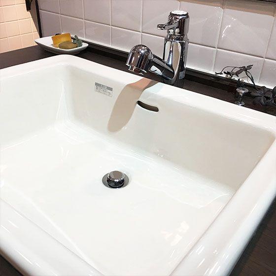 Essence 洗面器 E274240 Lレクタングル 洗面ボウル ブランカ オーバーカウンター おしゃれな洗面 デザイン水栓のお店 ユウラシク 洗面 洗面器 洗面ボウル