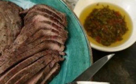 ... Chimichurri Sauce | TEXAS Recipes ! | Pinterest | Flank Steak, Steaks