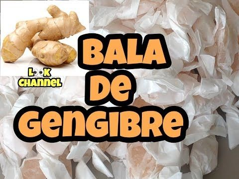 Bala De Gengibre Look Channel 116 Youtube Bala De Gengibre
