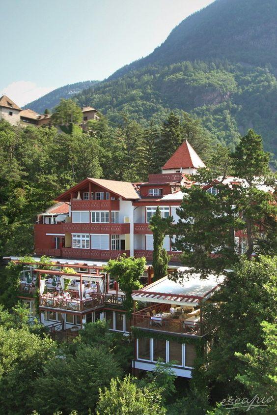 Privat geführtes Schlosshotel in Meran: Das Castel Fragsburg Relais & Châteaux. Südtirol. Italien