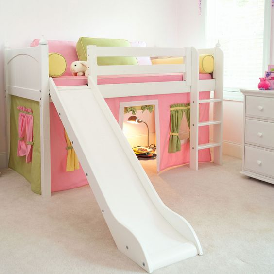 Kinderbett bauen: Bauanleitungen für Hochbett, Etagenbett, Spielbett
