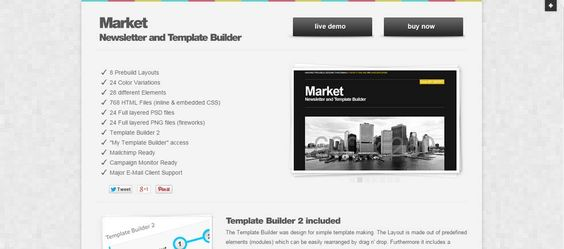 30 Free Responsive Email and Newsletter Templates Responsive - responsive email template