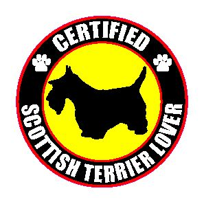 Certified Scottish Terrier Lover