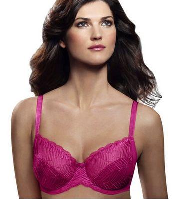 Pink, Pink, Pink, Wacoal La Femme Full Figured Underwire Bra