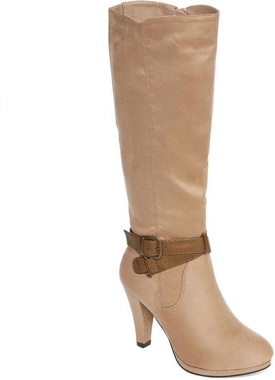 Wide Calf Boots - 17
