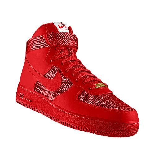 nike air force 1 high hyperfuse premium solar red